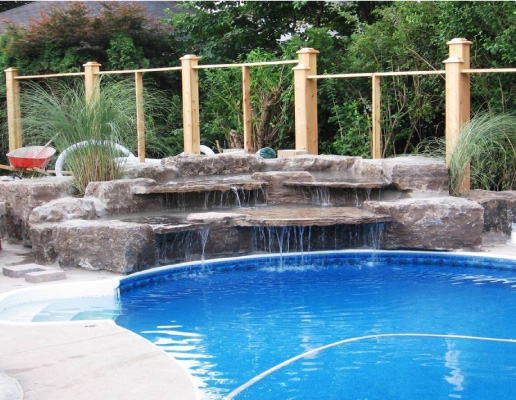 Waterfall Contractor in Burlington